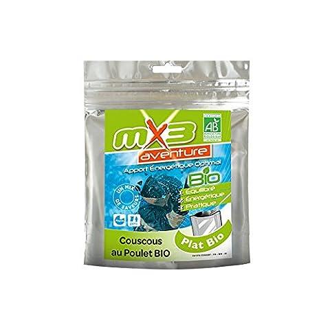 MX3 Adventure Repas lyophilisé couscous poulet bio