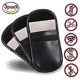 Hongci 3x chiave auto Signal Blocker case, KEYLESS Fob Guard blocco segnale della borsa, antifurto Lock dispositivi, Healthy telefono cellulare privacy protezione sicurezza WiFi/GSM/LTE/NFC/RF Blocke