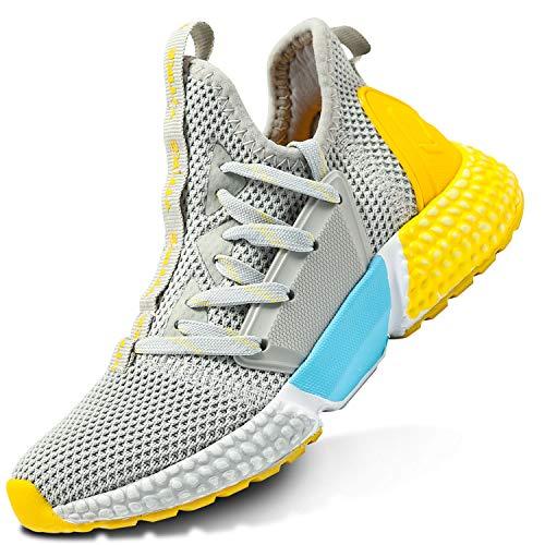 Sneakers Bambini Ragazzi Scarpe da Corsa Ragazze Trainer Ragazzi Scarpe Sportive Tennis Scarpe da Ginnastica all'aperto Scarpe da Interno Unisex