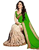 Sarees with Embroidered work and Blouse ...