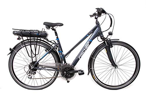 28 Zoll Fischer Alu Damen Elektro Fahrrad E-Bike Pedelec Trekking Shimano 24 Gang 36V/14,5 Ah