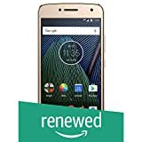 (Certified Refurbished) Moto G5 Plus XT1686 (Fine Gold, 32GB)