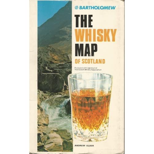 Whisky Map of Scotland by Andrew Elder (1995-06-01)