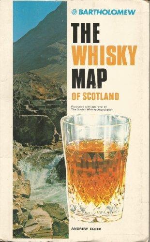 Bartholomew Whisky Map of Scotland by Andrew Elder (January 19,1993) par Andrew Elder
