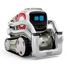 Dieses Roboter-Haustier passt in jedes Zuhause: Cozmo ist ein kleiner Roboter mit Raupenantrieb, der von Anki darauf programmiert wurde, Ihnen und Ihrer Familie unzählige Stunden Spaß zu bescheren. Füttern, tunen und spielen Sie interaktive Spiele mi...