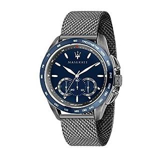 Reloj para Hombre, Colección Traguardo, con Movimiento de Cuarzo y función cronógrafo, en Acero y pvd Gris – R8873612009