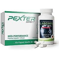 Vergleichssieger 2018: PEXTER-direct (5 Kapseln) & L-Arginin 2000mg (60 Kapseln) - Tolles Kombiangebot, vegan, hergestellt in Deutschland
