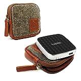 Tuff-Luv Herringbone Tweed Travel case für Chromecast/Chromecast Audio/Mu Duo Charger