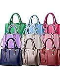 CUKKE Damen Mode Handtasche Marken Handtaschen Elegant Taschen Shopper Reissverschluss Frauen Handtaschen 30cm