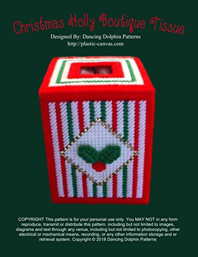 Holly Grid (Christmas Holly Boutique Tissue: Plastic Canvas Pattern (English Edition))