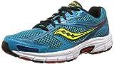 Saucony Cohesion 8 - Zapatillas de Running Unisex, Color Verde Azulado/Rojo/citrón, Talla 42.5