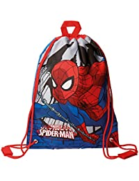 Spiderman Comic Mochila Infantil, 40 cm, 0.6 Litros, Multicolor