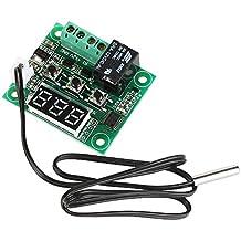 Tenflyer Enfriar Temperatura Termómetro Interruptor de control de la temperatura del termostato de calor