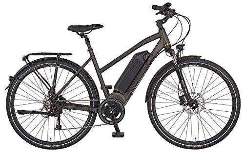 "Prophete E-Bike,28"", Entdecker e8.7, AEG EcoDrive Mittelmotor, 36V,250 W, max. 50 Nm, SHIMANO 8-Gang Kettenschaltung,AEG Downtube-Akku Lithium-Ionen 36V,10,4 Ah (374Wh), Alu-Trekking-Premium-Rahmen"