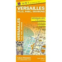 Plan de Versailles, Ville, Parc et Environs