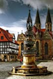 Braunschweig Fountain in Germany Journal: Take Notes, Write Down Memories in this 150 Page Lined Journal