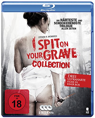 I Spit On Your Grave 1-3 (3 Disc-Set) [Blu-ray]
