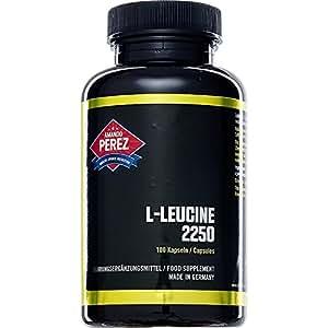l leucine 2250 mg par dose 100 capsules acide amin essentiel pour la synth se des. Black Bedroom Furniture Sets. Home Design Ideas