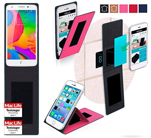 reboon Hülle für UMi eMax Mini Tasche Cover Case Bumper | Pink | Testsieger
