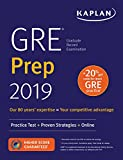 GRE Prep 2019: Practice Tests + Proven Strategies + Online