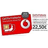 CallYa Smartphone Allnet Flat - Triple-SIM-Karte mit 25 EUR Guthaben