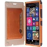 Krusell Kiruna Etui à rabat pour Nokia Lumia 730/735 Camel
