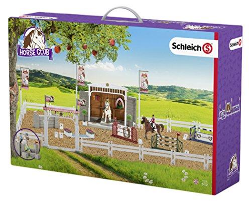 Schleich 42338 - Großes Reitturnier mit Pferden, mehrfarbig