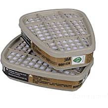 [Envio GRATIS] 3M 6001CN Filtro de funda de algodón para 3M 6200 6800 7502 Doble Gas Mask // 3M 6001CN Filter Cotton Cover for 3M 6200 6800 7502 Double Gas Mask