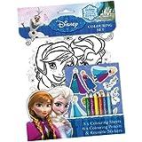 La Reine Des Neiges - Fncst - Disney - Kit De Loisirs Créatifs Et Coloriage