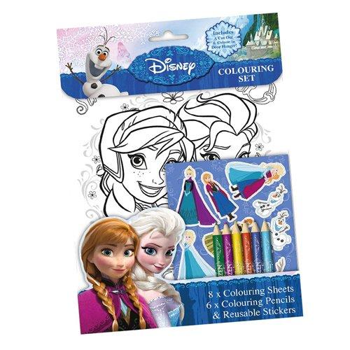 Disney Anker Frozen Colouring Kit