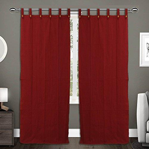 check MRP of maroon color curtains RAKSHA