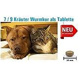25 vectovet ® 7 Kräuter Tabletten, biologische Wurmkur/Entwurmung für Hund und Katze
