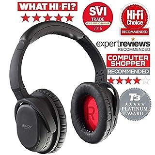 Lindy Casque Hi-FI BNX-60 Bluetooth avec réduction de Bruit Active