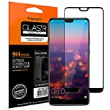 Spigen Verre trempé Huawei P20, [Full Cover Black], Compatible avec Les Coques, Easy-Install Kit, Extreme Résistant aux Rayures, Ultra Claire, Protection Huawei P20(L21GL23079)