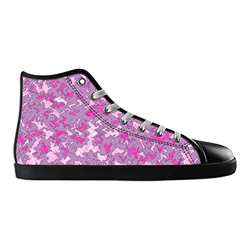 Dalliy camouflage Women's Canvas Shoes Lace-up High-top Footwear Sneakers Chaussures de toile Baskets D