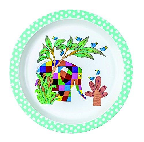elmer-assiette-pour-bebe-multicolore-diametre-21-cm