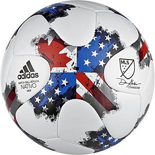 Adidas Unisex m36937MLS Glider Fußball, Größe 5, Weiß