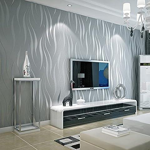 btjc classique papier peint papier peint non tissé Motif 3D européenne Revêtement mur moderne 3D famille de 0,53m * * * * * * * * 10M en relief Textures 248