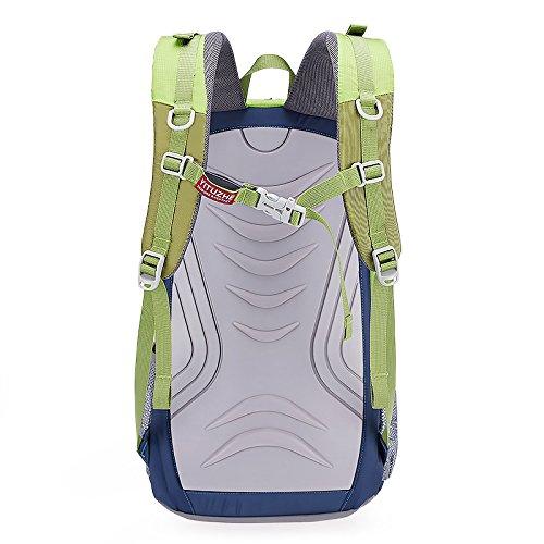 HCLHWYDHCLHWYD-Tragetasche wasserdicht Bergsteigen Tasche Tasche ultraleichte Wanderrucksack Sporttasche Männer und Frauen Green