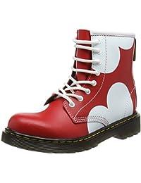 Dr. Martens Unisex Kids' Delaney HRT Ankle Boots