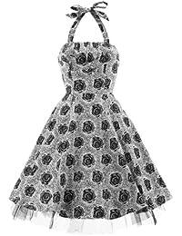 H r & london rOSES 5316 robe robe noir