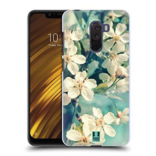 Head Case Designs Weisse Kirschblüten Blumen Ruckseite Hülle für Xiaomi Pocophone F1 / Poco F1