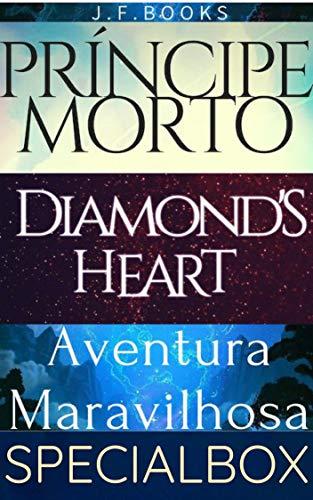 BOX 4 LIVROS: PRÍNCIPE MORTO, UMA AVENTURA MARAVILHOSA E DIAMOND'S HEART (Portuguese Edition) book cover