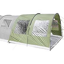 Skandika Canopy Gotland 5 - Pabellón anexable a tiendas de campaña, color verde