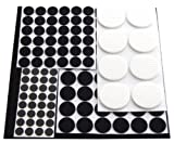 Amtech S5325 Floor Protector Furniture Pads, 125-Piece