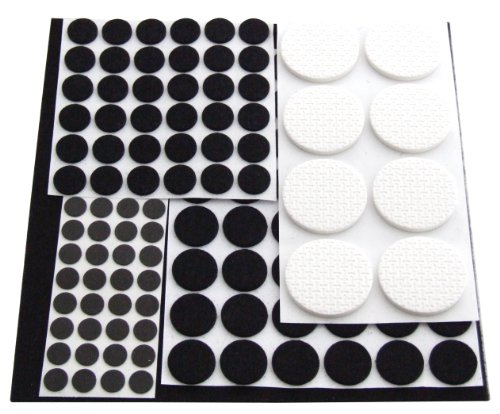 Am-Tech Floor Protector Furniture Pads (125 Pieces) by Amtech