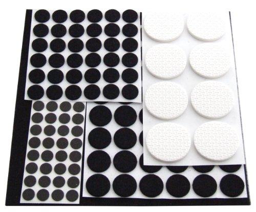 Am-Tech 125 Stück Floor Protector Furniture Pads, S5325
