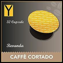 32 CAPSULE Caffè CORTADO compatibili per NESCAFE DOLCE