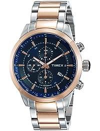 Timex Analog-Digital Blue Dial Men's Watch-TW000Y415