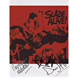 Slade (Band) Noddy Holder + 2 SIGNED Photo 1st Generation PRINT Ltd 150 + Certificate (2)